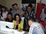 Husqvarna Nähmaschinen Schulung in Indoniesien